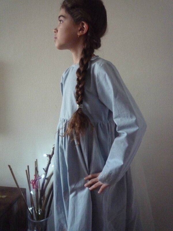 Robe Reine des neiges pour ma princesse