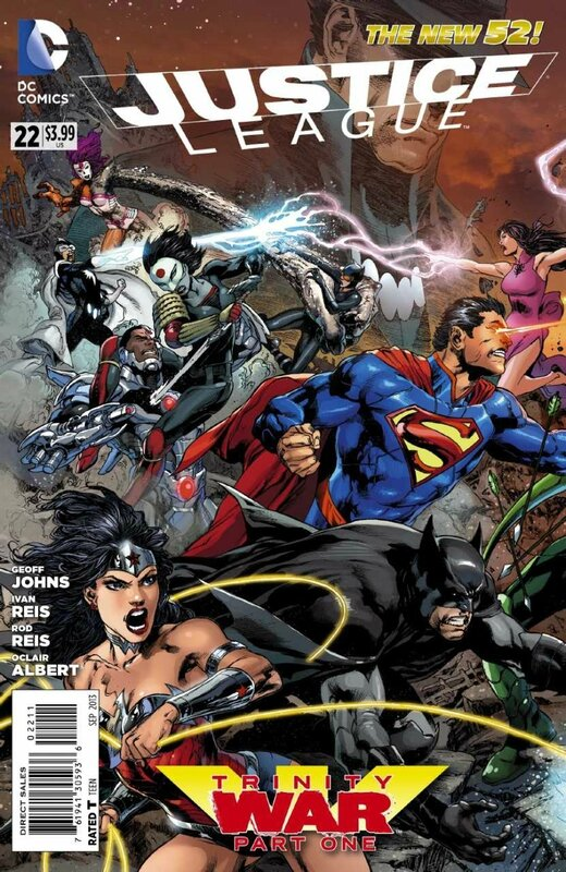 new 52 justice league 22
