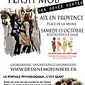 Flash mob des bebes portes - 13 octobre