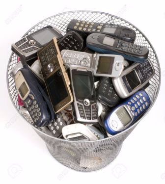 4574511-rubbish-bin-full-of-old-cellphones-Stock-Photo-phones-old-cell