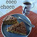 Carrot cake coco choco