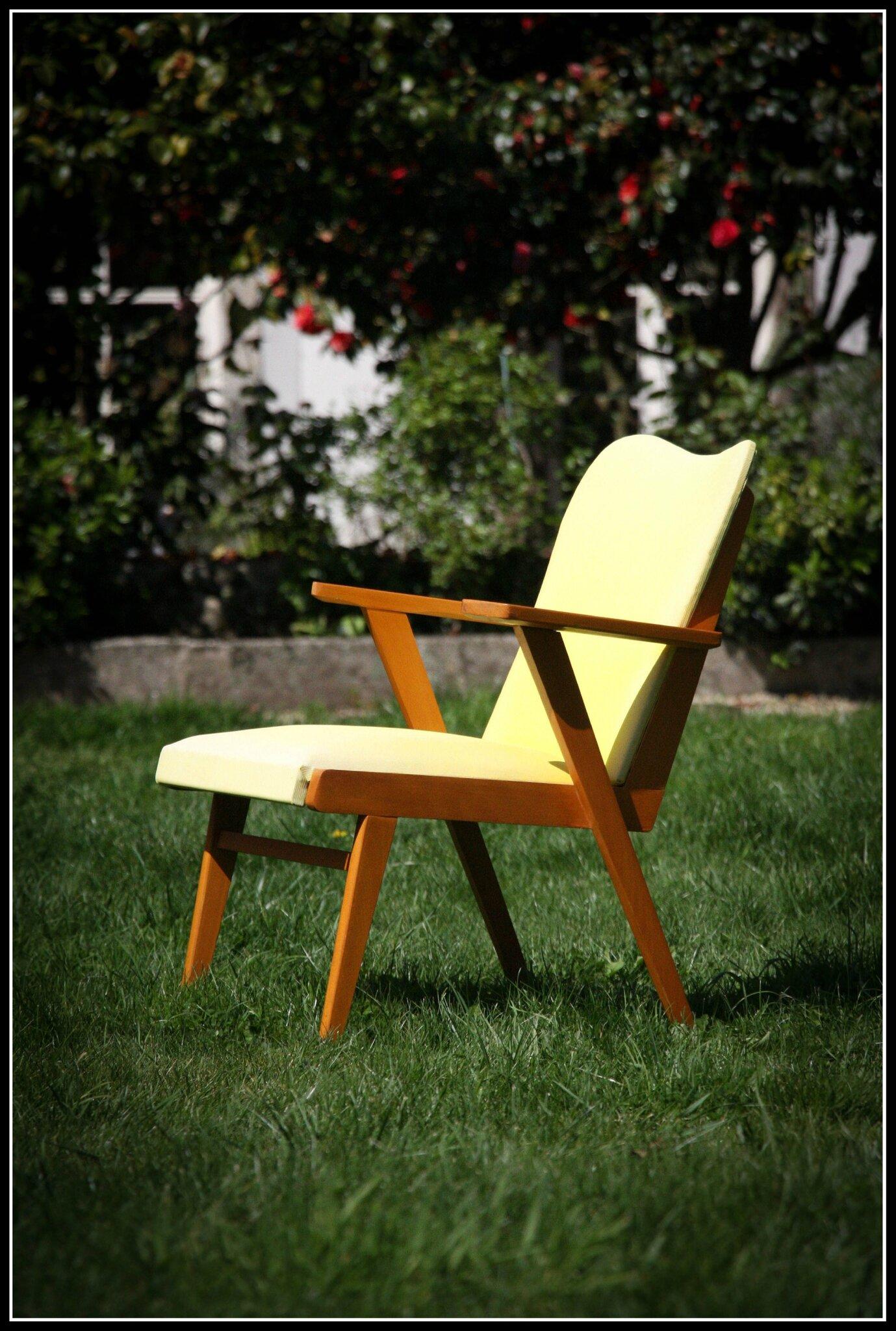 702 fauteuil vintage 50s