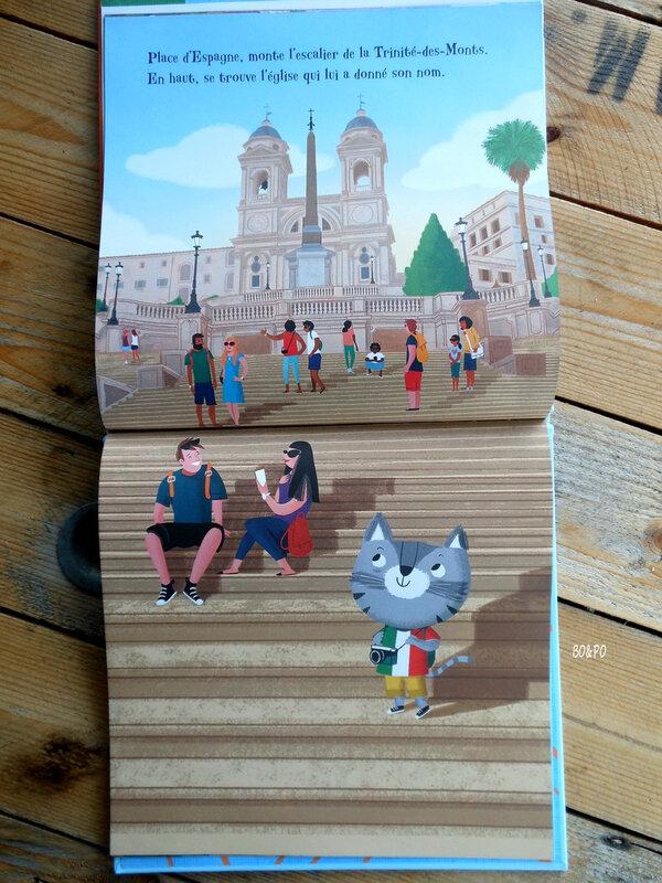 Minou Minou Rome éditions Usborne lecture jeunesse livre enfant #chutlesenfantslisent #editionsusborne #mamanboucledor