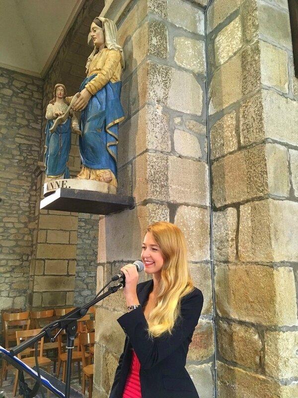 Gospel pour mariage ROUEN 76 Seint-Maritime • chanteuse et pianiste, chorale • variété, pop, chant liturgique