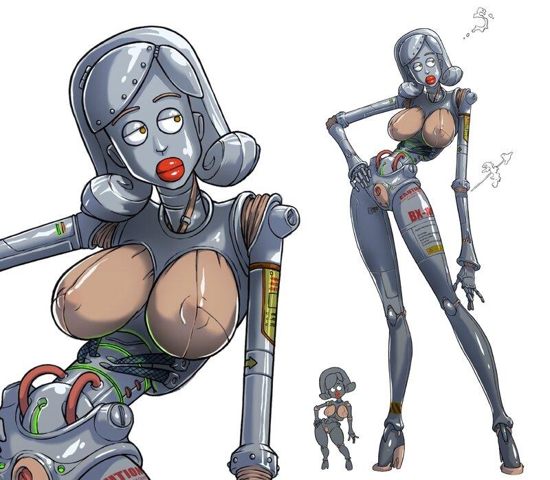cyborg girl robot