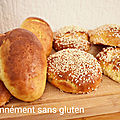 Pains briochés au mascarpone sans gluten