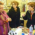 Gadouille, Anne et Olga, mars 2015