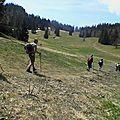 Tour des rochers du perthuis - chartreuse