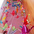 Tuto : la guirlande de grues en origami diy