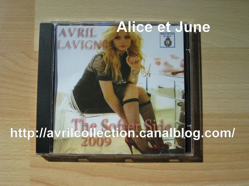 CD marocain Avril Lavigne The Softer Side (2009)
