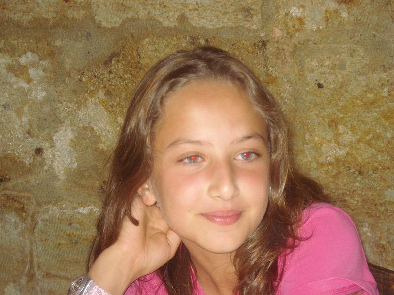 Une belle jeune fille en devenir...