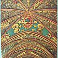 Albi - Basilique Ste Cécile - Détail de la Nef