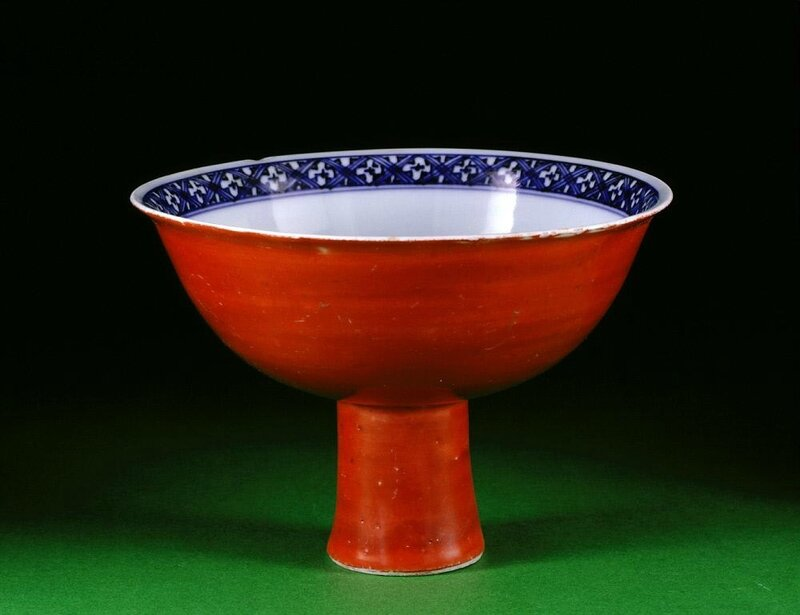 Stem cup, Ming dynasty, 16th Century