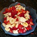 Salade de fruits....
