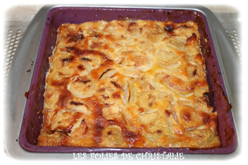 Clafoutis pêches 8
