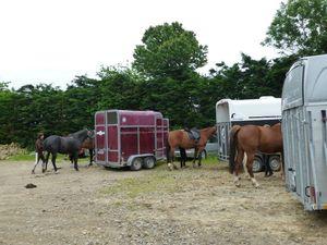 balade equestre gastronomique à La Lucerne d'Outremer (1)