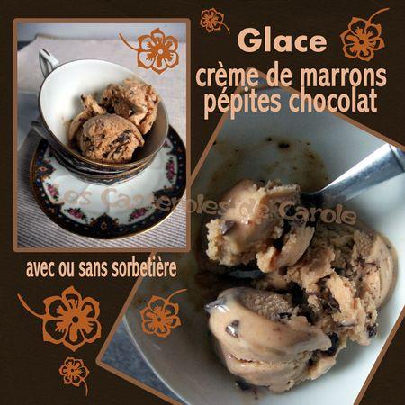 Glace crème de marrons lait gloria (SCRAP)