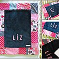 Couverture bébé Patch' Liz