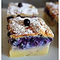 Gâteau magique myrtille & citron : 1 pâte, 3 textures !