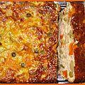 Terrine de thon à la macédoine de légumes