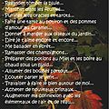 Witch-list d'octobre