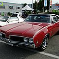 Oldsmobile 442 holiday hardtop coupe - 1969