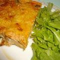 Flan de courgettes et poulet
