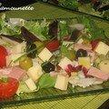 Salade estivale complète en folie du moment