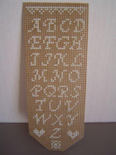 2007 07 - Marque pages sur carton, modèle Miss T