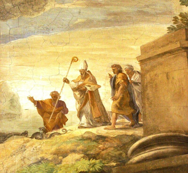 St Hilaire à Rome: détail