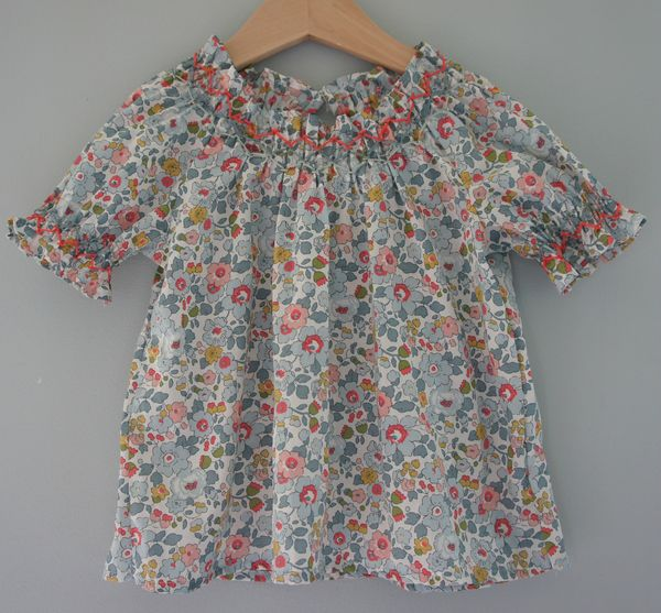 blouse Betsy porcelaine