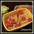 Bento « coquillettes »