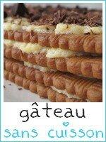 gâteau sans cuisson thé brun - café - index