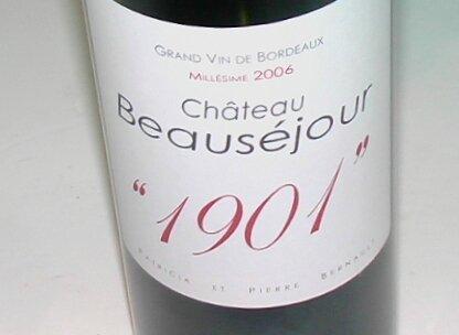Beauséjour 1901 2006