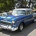 CHEVROLET Bel Air 4door Sedan 1955 Poussan (1)