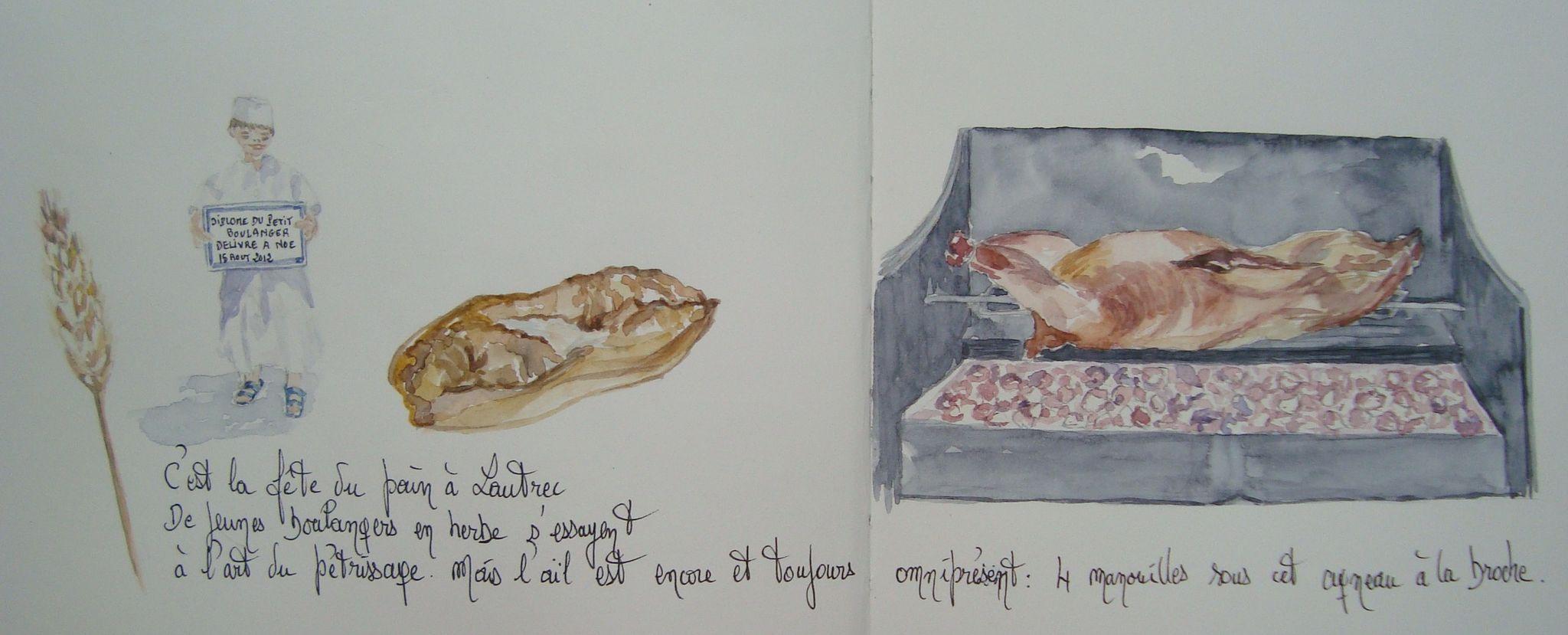 Fête du pain à Lautrec