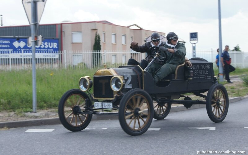 Ford T-Fr hors-course