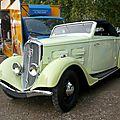 Peugeot 301 d cabriolet 1935