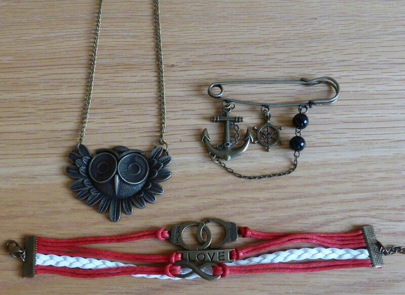 trio bijoux