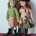 Léonie et Annie en automne