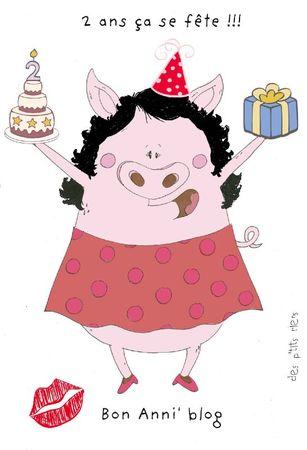Miss pig bon anni'blog