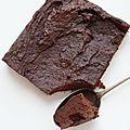Gateau chocolat patate douce