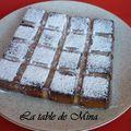 Gâteau de ricotta à la noix de coco et framboises