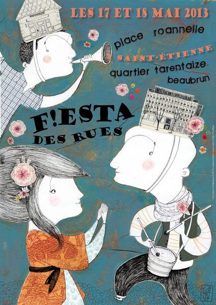 Affiche Fiestadesrues01-def-lesmamouchkas-lguery-jwendling-2013