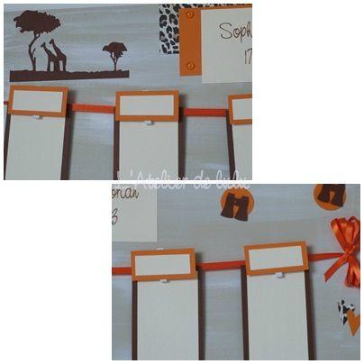 plan de table safari