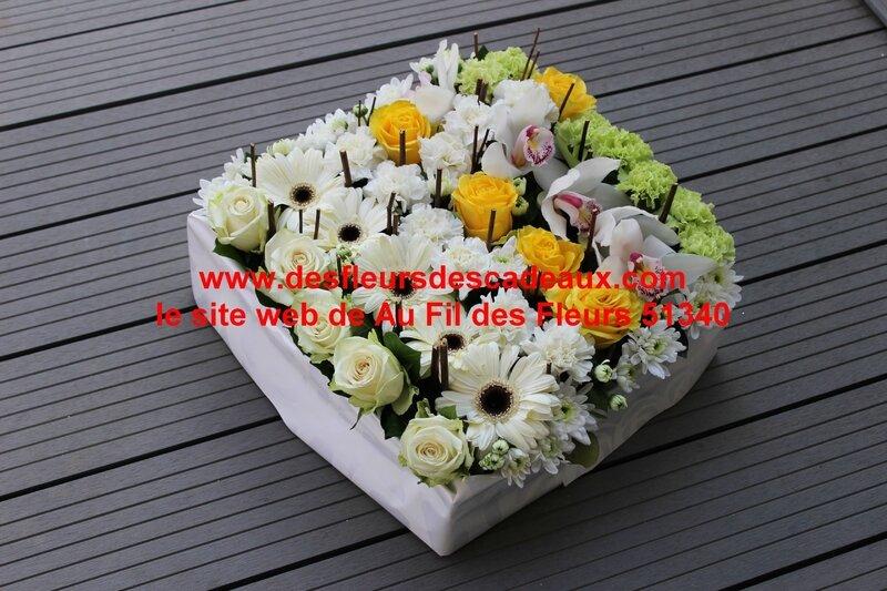 carré de fleurs deuil (3)
