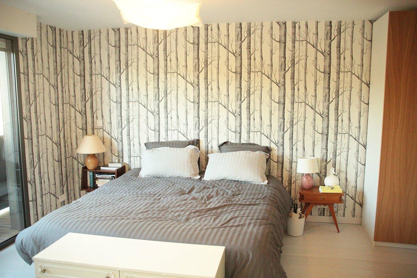la maison la chambre parentale et la petite chambre la maison de popo et paco. Black Bedroom Furniture Sets. Home Design Ideas