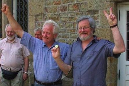 les deux anti-OGM et anti-prélèvement d'ADN François Dufour et Pierre Jarre devant le tribunal correctionnel d'Avranches