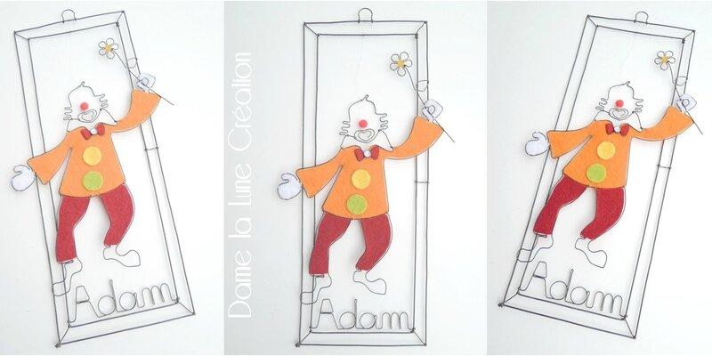 - MOBILE Le clown de Adam!
