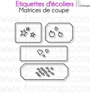 Image Etiquettes d'écolier
